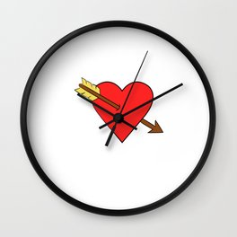 "For those believes that ""Love is Not For Free"" Loves Freely Freedom Relation Relationship Commitment Wall Clock"