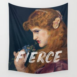 Fierce - Feminist Wall Tapestry