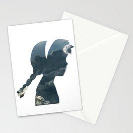Princess of Laputa Silhouette Stationery Cards