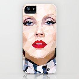 Low Poly Portrait iPhone Case