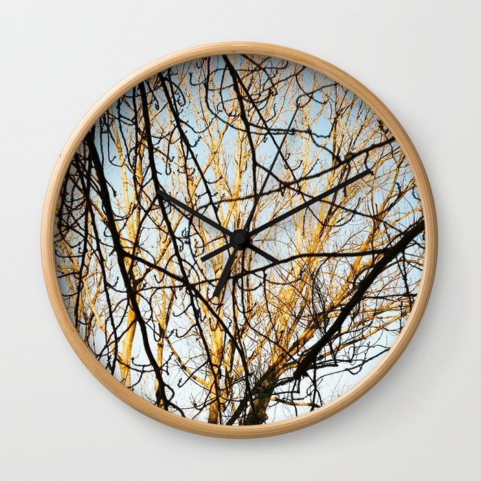 Branches and Branches Wall Clock