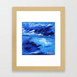 l'Orage, The Storm Framed Art Print