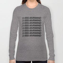 Nevermind Long Sleeve T-shirt