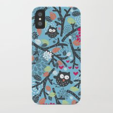 Owls. Slim Case iPhone X