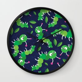 Bugs in Space Wall Clock