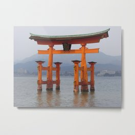 Itsukushima Shrine Metal Print