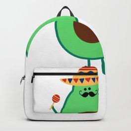 Cinco De Mayo Avocado Guac On Sombrero Backpack