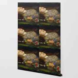 OPHELIA - JOHN EVERETT MILLAIS Wallpaper