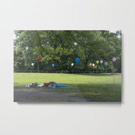 Let's have a picnic Metal Print