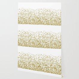 Gilded confetti Wallpaper