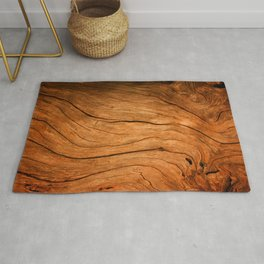 Wood Texture 99 Rug