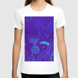 Blue Energy Transformation T-shirt