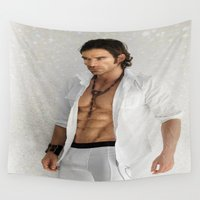 sexy Wall Tapestries featuring sexy by karens designs