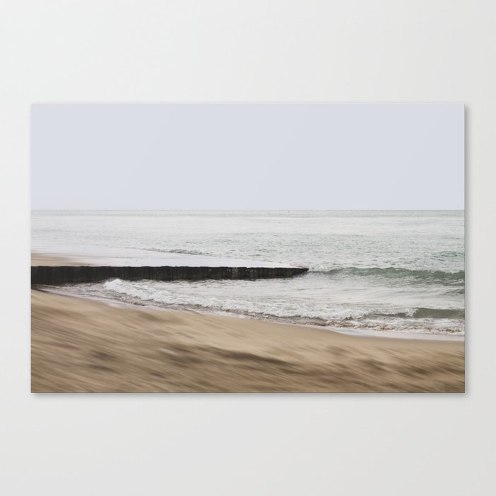 Unstable ground Canvas Print
