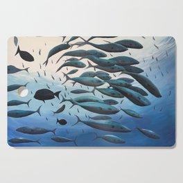 School of Fish Cutting Board