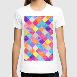 Lovely Geometric Background V T-shirt