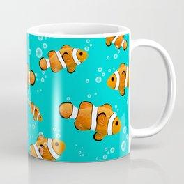 Tropical Clownfish Pattern Coffee Mug