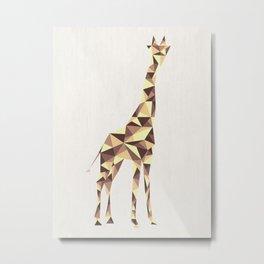 Giraffe #2 Metal Print