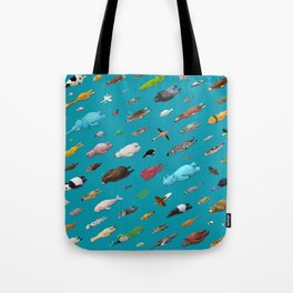 Sleeping Animals Tote Bag