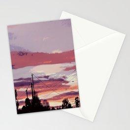 Sunset Vibrance  Stationery Cards
