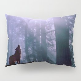 Wolf in the Woods Pillow Sham