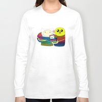 family Long Sleeve T-shirts featuring Family by Luna Portnoi