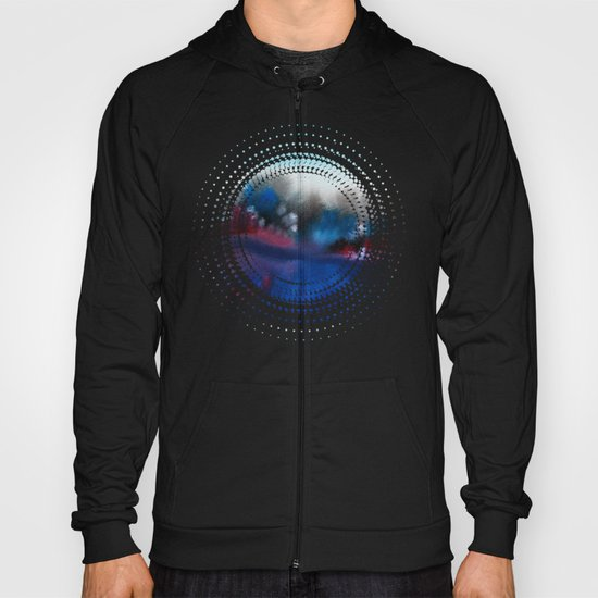 Watercolor abstract landscape 25 Hoody