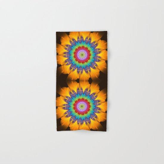 Tropical fantasy flower Hand & Bath Towel