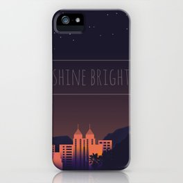 Shine Bright iPhone Case