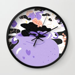 Badb Catha Wall Clock