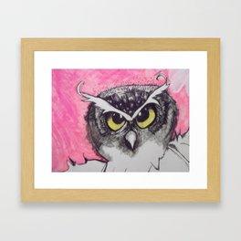Owl 1 Framed Art Print