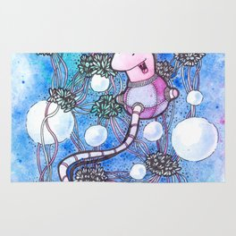 The strings and skeins universe Rug