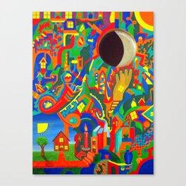 Stream of Consciousness 4 Canvas Print