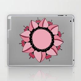 Rose, Pink & Gray Mandala Laptop & iPad Skin