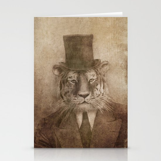 Sir Tiger Stationery Cards