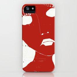« vos faux-cils mademoiselle » iPhone Case
