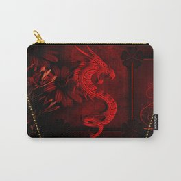 Wonderful red chinese dragon Carry-All Pouch