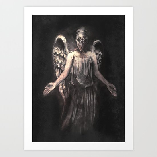I've Forgotten Why I Shouldn't Blink Art Print