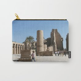 Temple of Luxor, no. 28 Carry-All Pouch