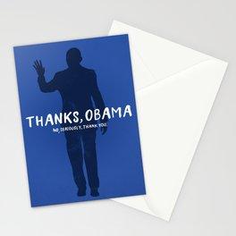 Thanks, Obama Stationery Cards