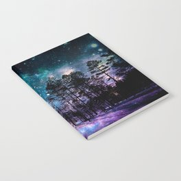 One Magical Night... teal & purple Notebook