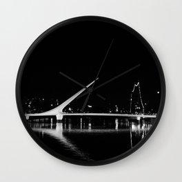 Puente de la Mujer Wall Clock