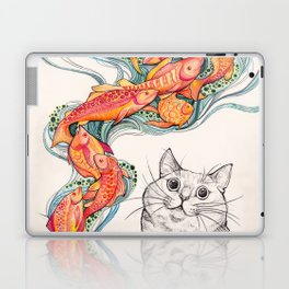 Wishes for Fishes Laptop & iPad Skin