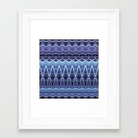 constellation Framed Art Prints featuring Constellation by Zandonai Pattern Designs
