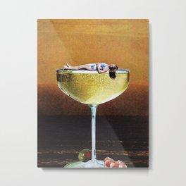 Champagne Sunset 8x10 Metal Print