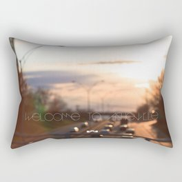 Welcome to Asheville. Rectangular Pillow