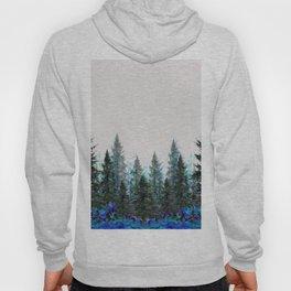 MOUNTAIN FOREST PINES LANDSCAPE  ART Hoody