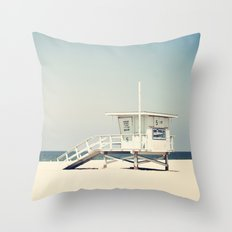 Hermosa Beach  Throw Pillow