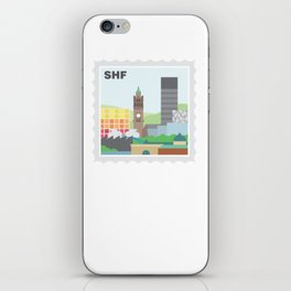 City Stamps - Sheffield iPhone Skin