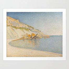 Cassis, Cap Lombard, Opus 196 Art Print